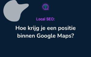 Local SEO - Google Maps