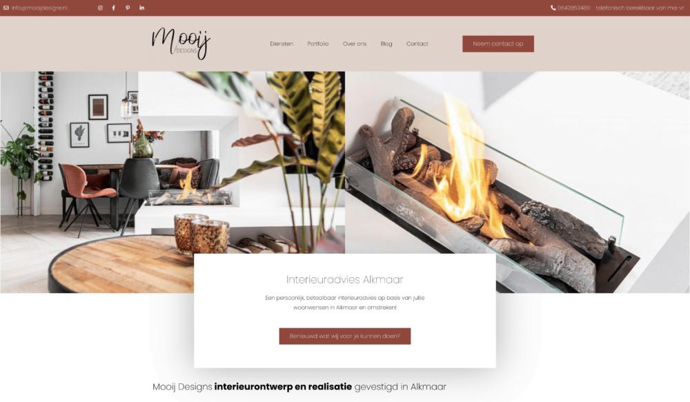 Website Mooij Designs